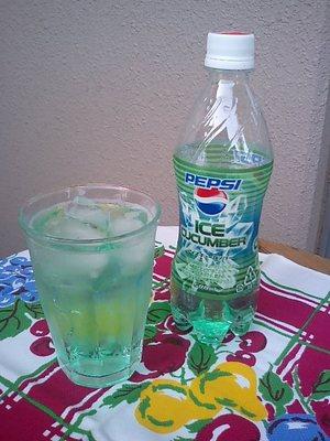 Pepsiicecucumber