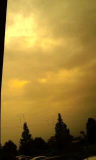 またまた輝く雲
