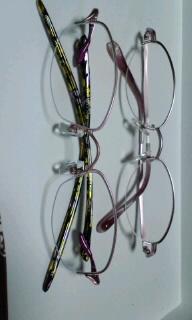 メガネ二つ